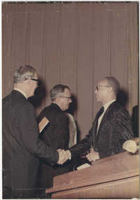 Photograph of Eugene C. Hunt at an Event