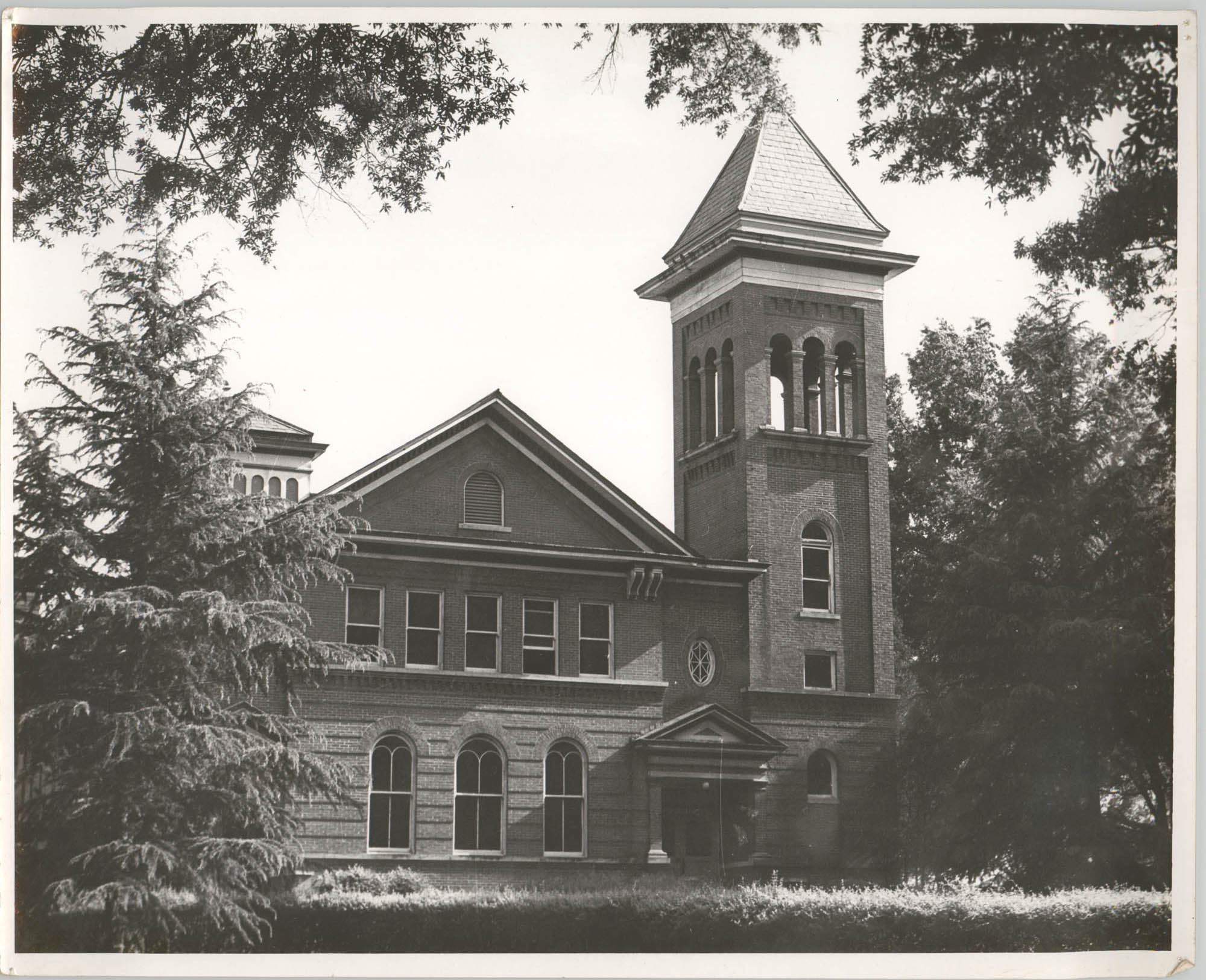 Photograph of a Building at Talladega College