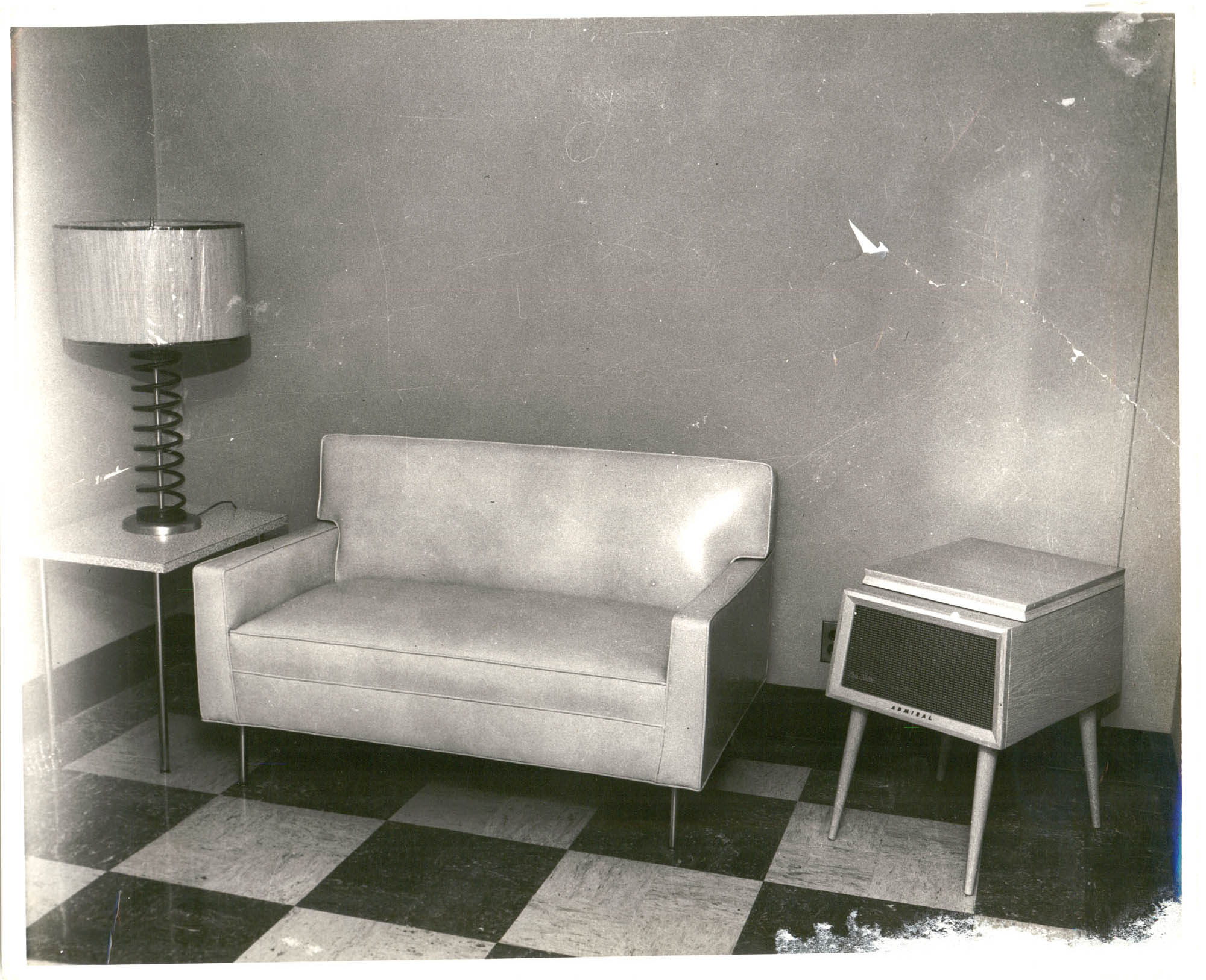 Photograph of Interior of a Room at Talladega College