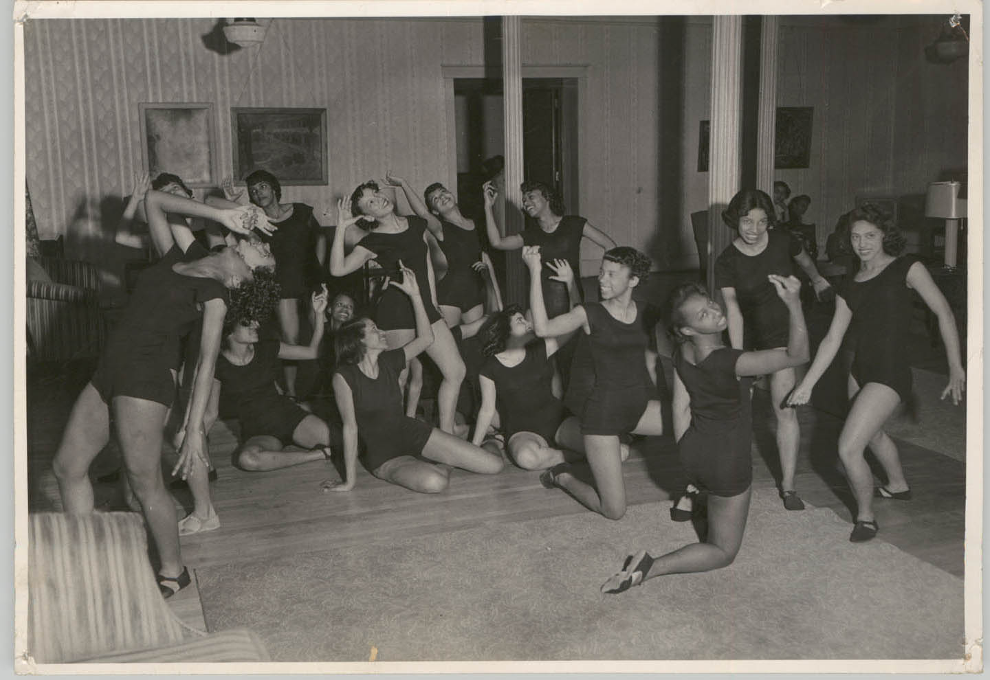 Photograph of Dancers at Talladega College