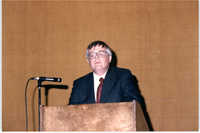 Photograph of Edmund L. Drago at a College of Charleston Event