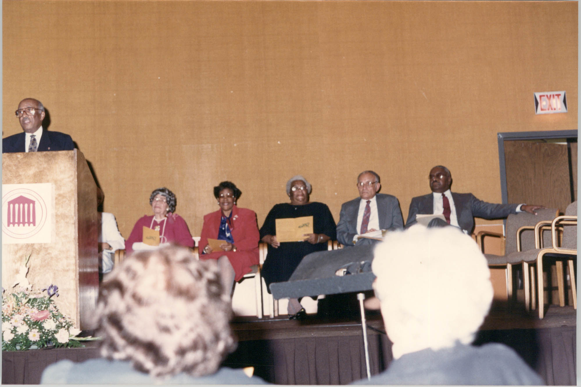 Photograph of James Michael Graves at a College of Charleston Event
