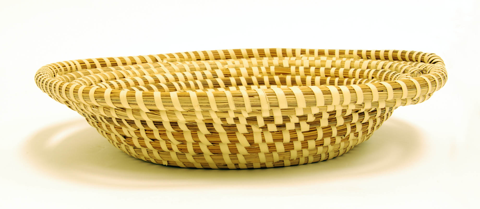 Traditional sweetgrass basket (Bread basket)