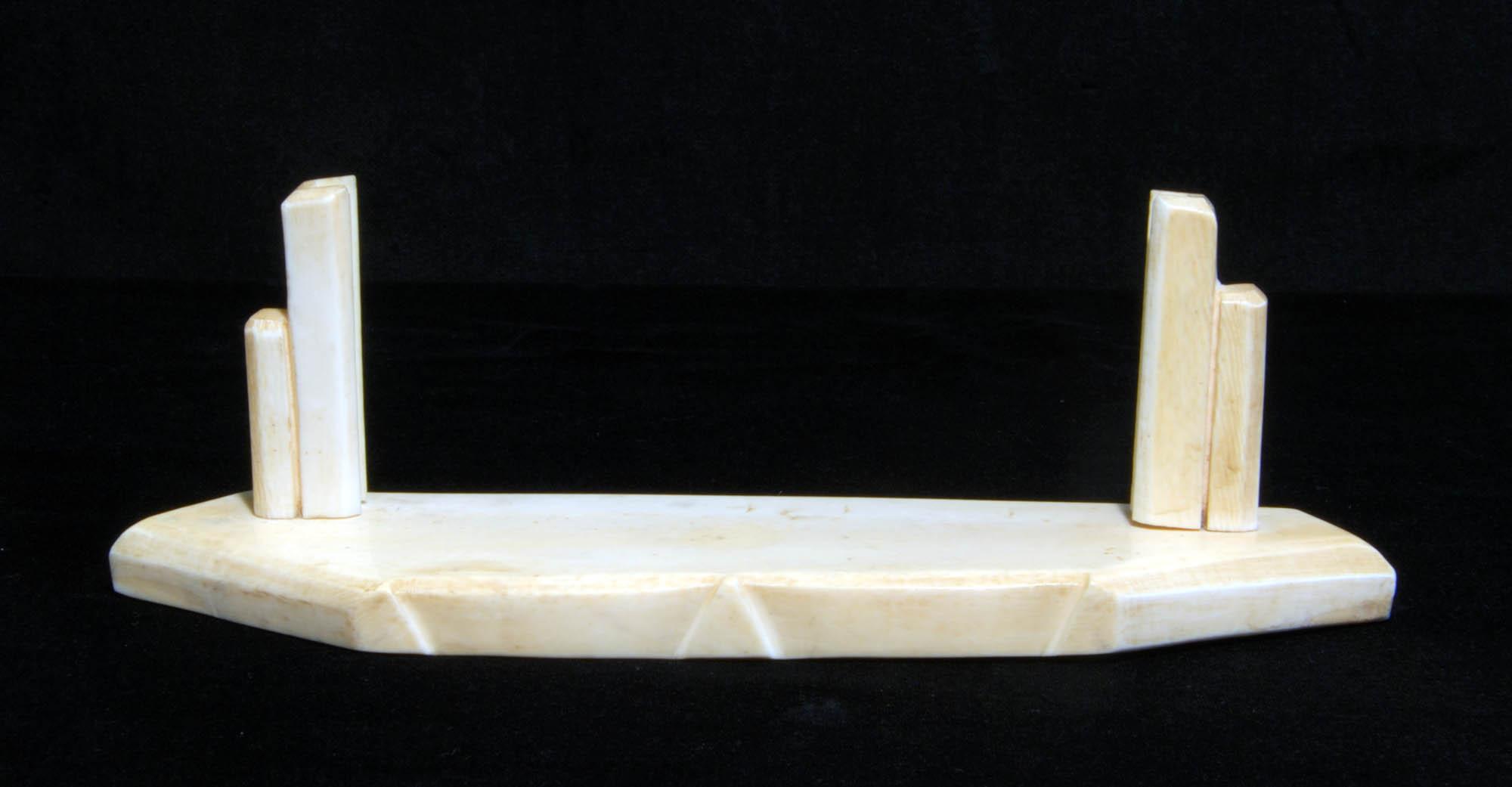 Ivory menu holder