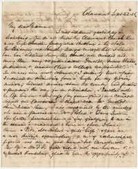 365.  Robert Woodward Barnwell to Catherine Osborn Barnwell  -- September 22, 1856