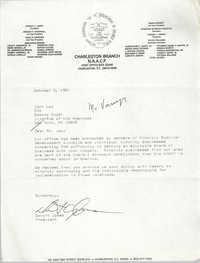 Charleston Branch of the NAACP Memorandum, October 3, 1991