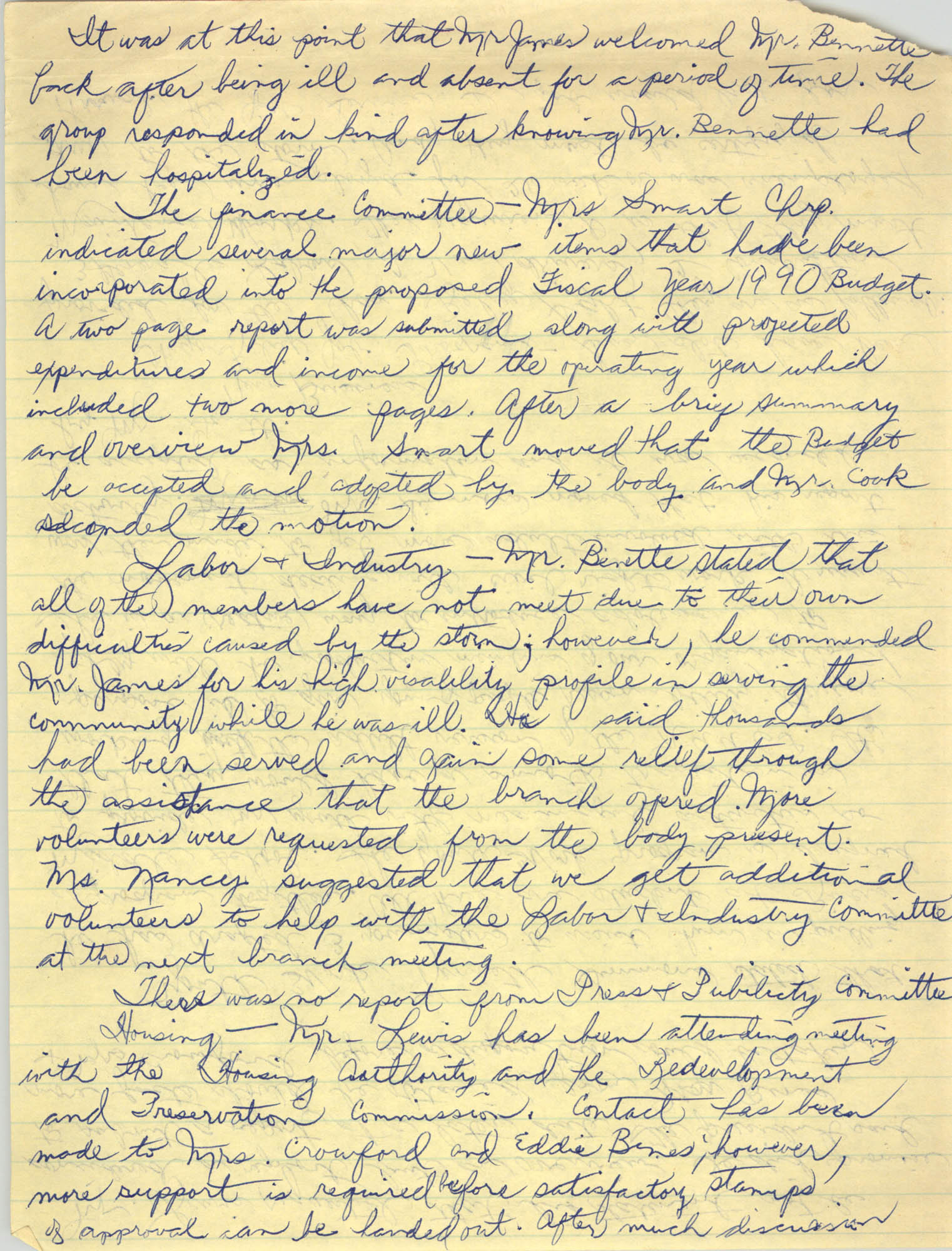 Notes, Charleston Branch of the NAACP