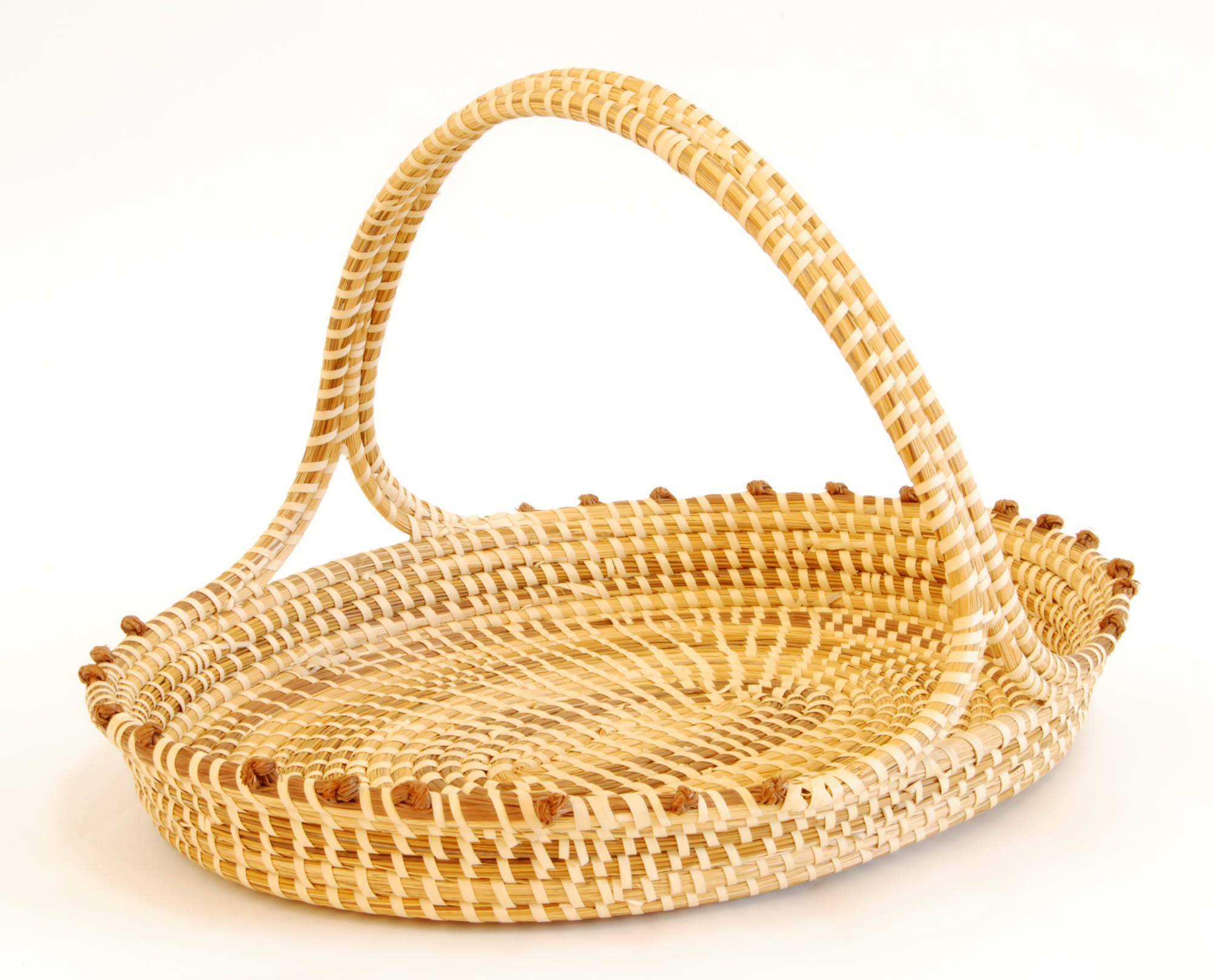 Sweetgrass magazine tray