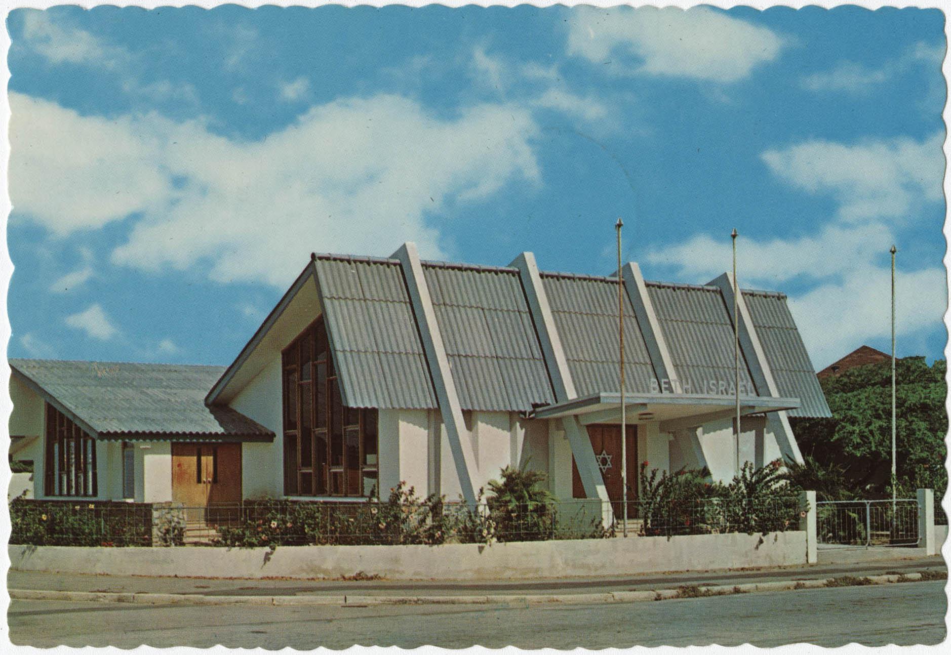 Jewish Synagogue Beth Israel in Oranjestad, Aruba, Neth. Antilles