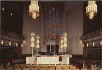 בית הכנסת הגדול בירושלים, מראה פנימי של ההיכל / The Jerusalem Great Synagogue, interior view
