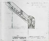 55 South Street interior stair rail
