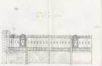 6 Doughty Street gate