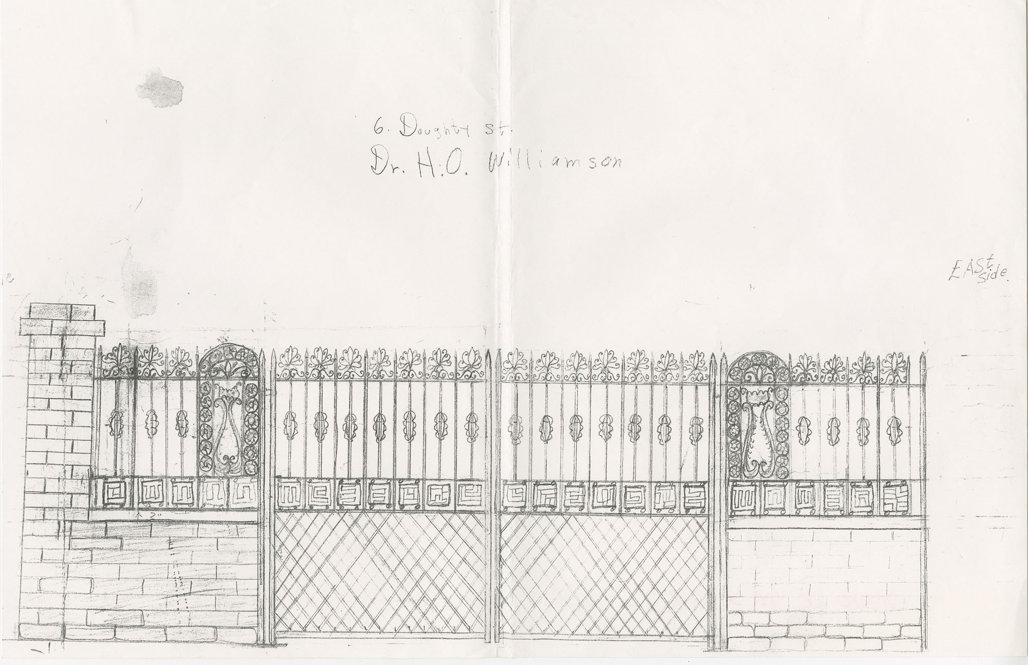 6 Doughty Street gate