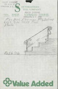 59 South Battery stair rail