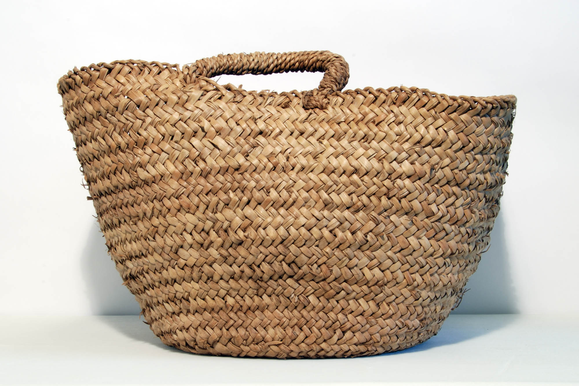 Straw vegetable basket