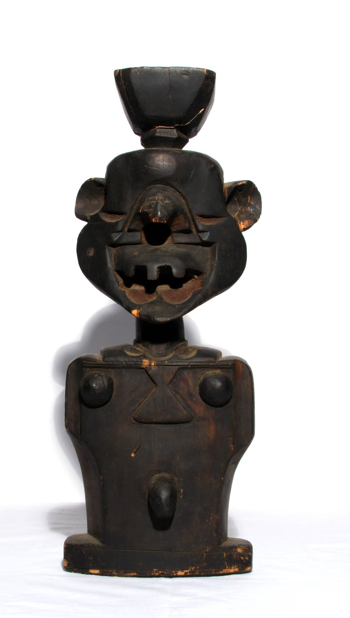 Carved wooden figure