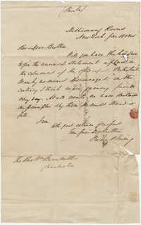 080.  Pierre Irving to William H. W. Barnwell -- January 18, 1845