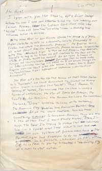 Letter to Eugene C. Hunt
