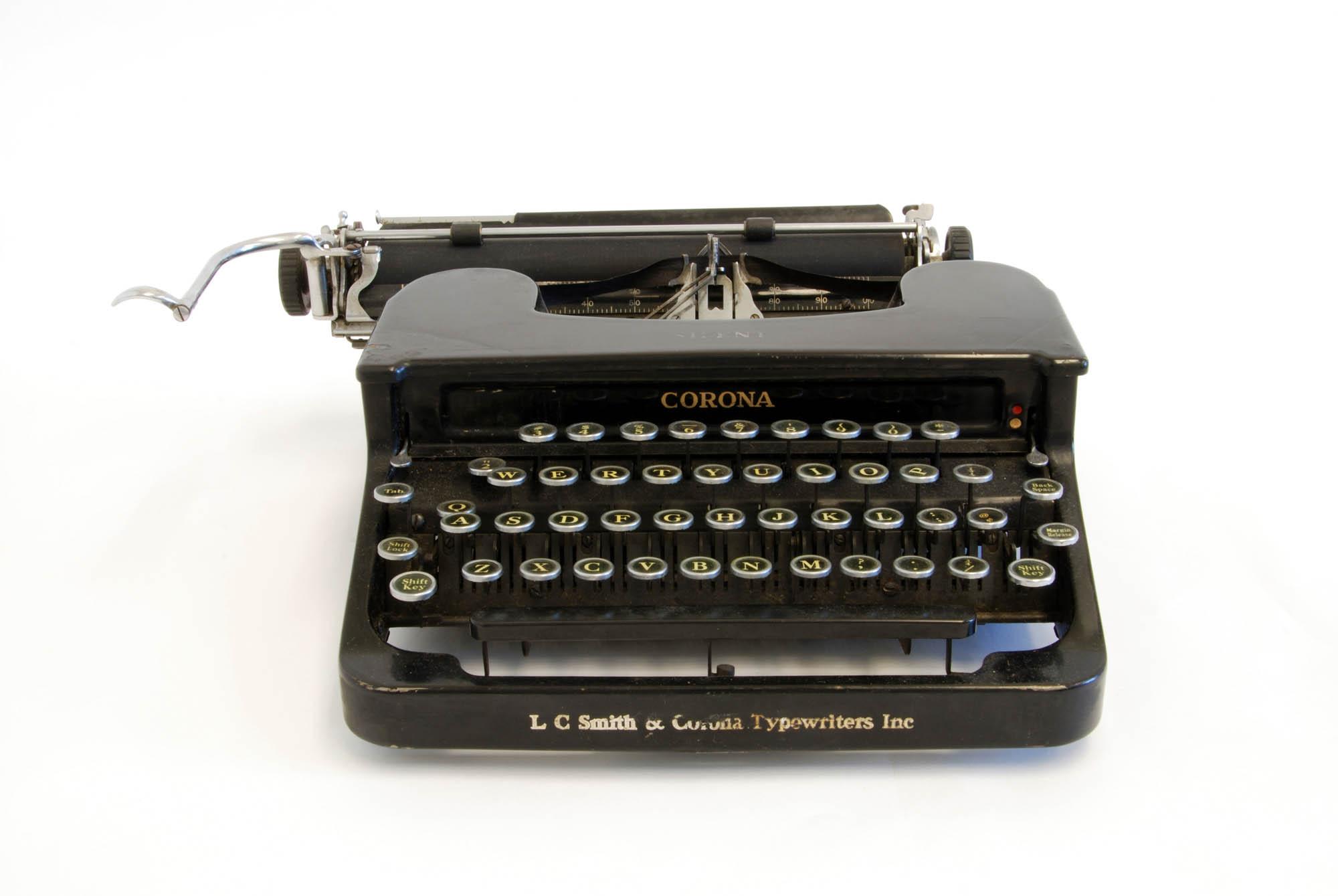 Smith & Corona typewriter