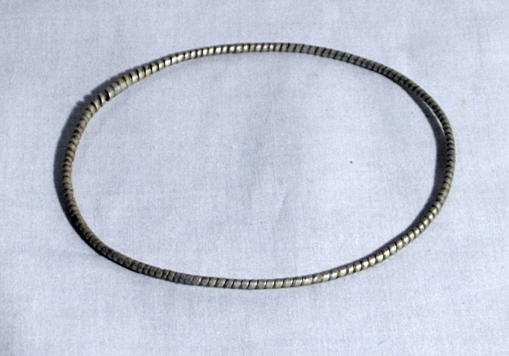 Iron anklet
