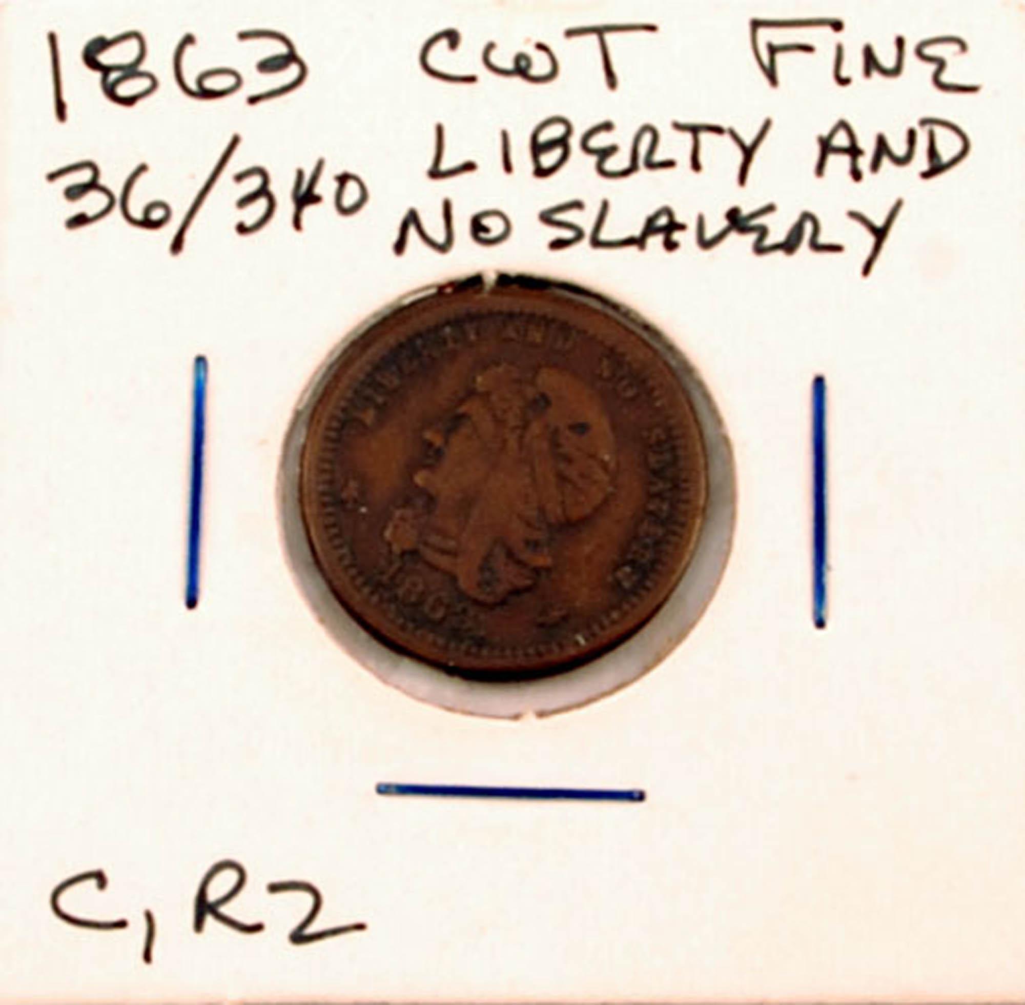 Anti-slavery token