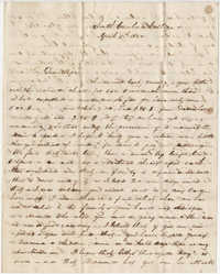 312.  Robert Woodward Barnwell to William H. W. Barnwell -- April 5, 1850