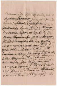 373.  Robert Woodward Barnwell to Catherine Osborn Barnwell  -- July 23, 1858