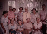 Photographs from the 60-year Memminger class reunion