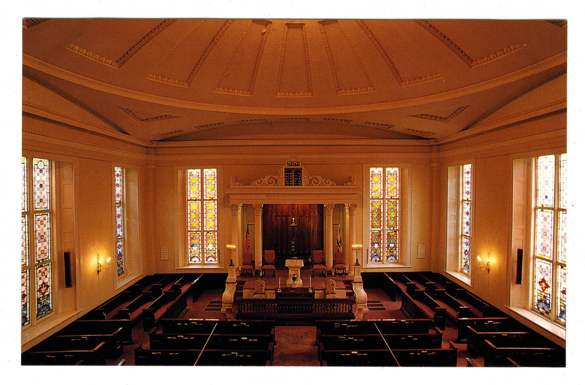 The synagogue of K.K. Beth Elohim, Charleston, South Carolina