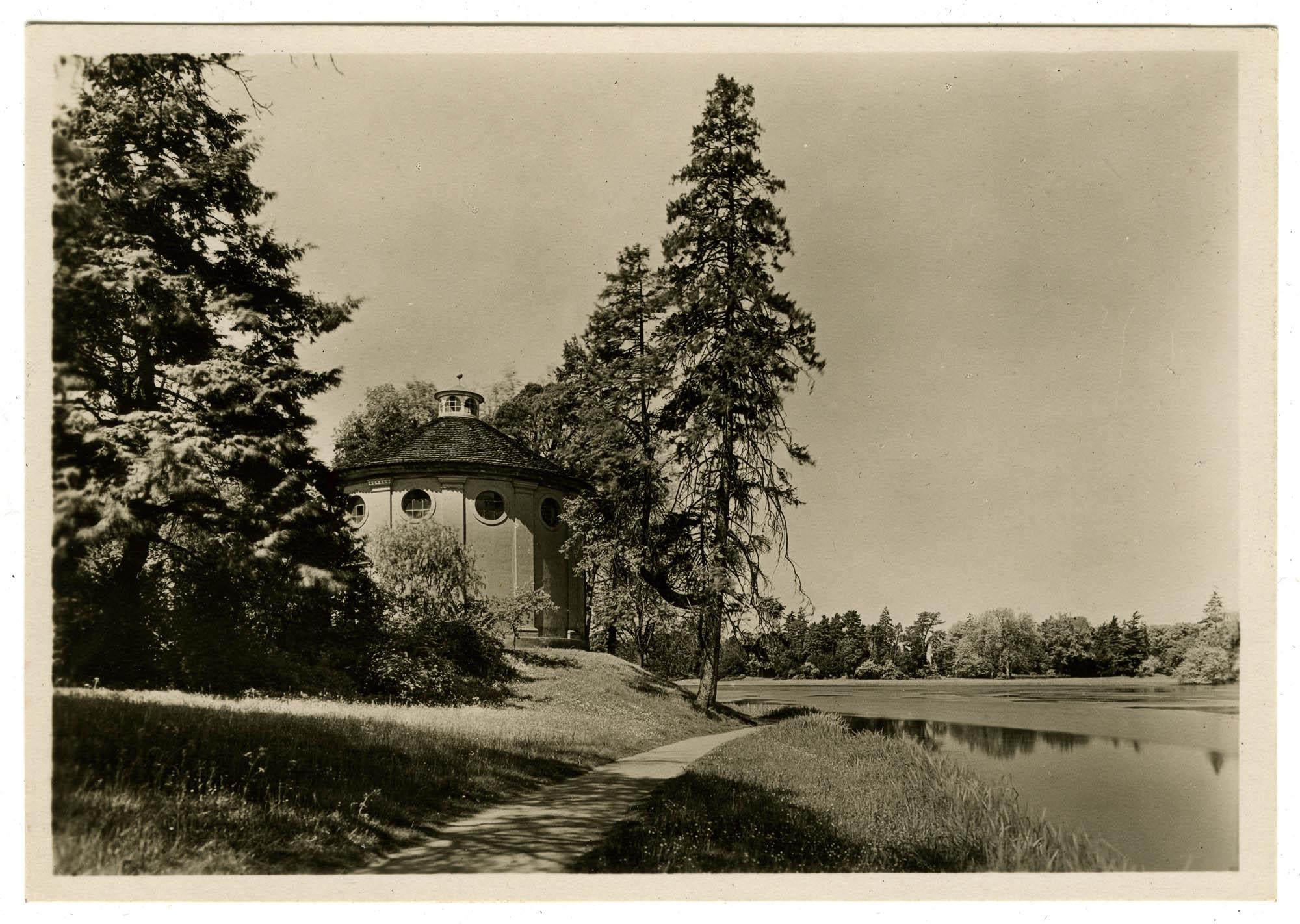 Der Park zu Wörlitz, Synagoge