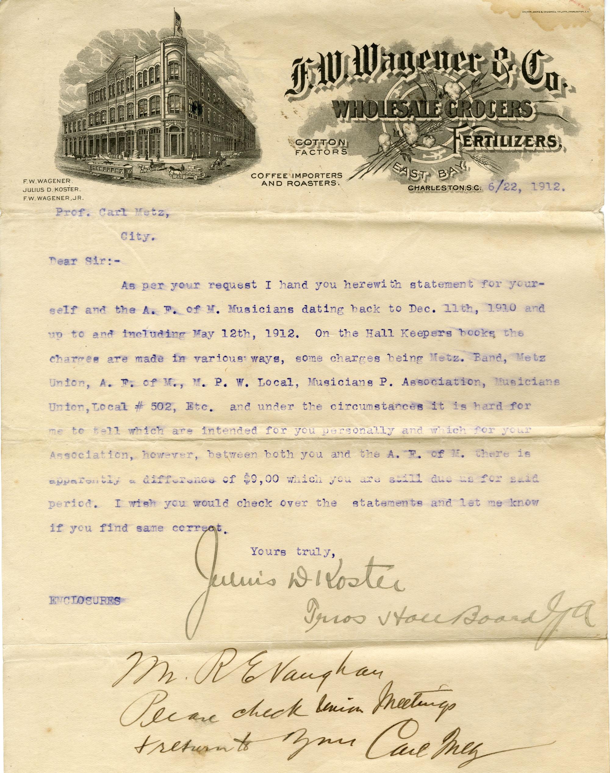 Correspondence 4