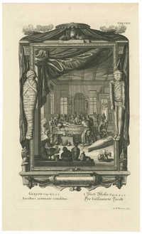 Genesis Cap. L. v. 2.3 Iacobus aromate conditus / I. Buch Mosis Cap. L. v. 2.3 Der balsamirte Jacob