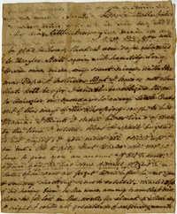 Letter from Henrietta Drayton to Ann Manigault