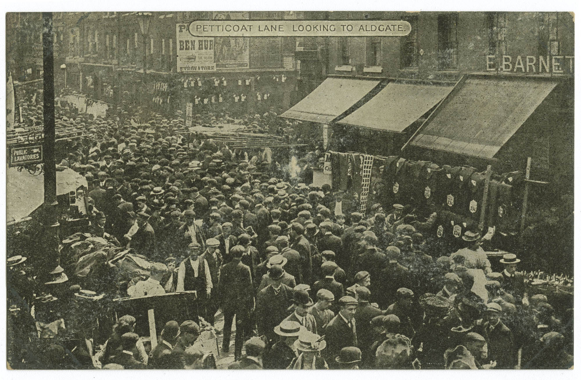 Petticoat Lane looking to Aldgate