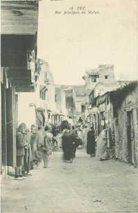 FEZ, Rue principale du Mellah
