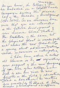 Letter from Pierrine Smith Byrd, May 23, 1967