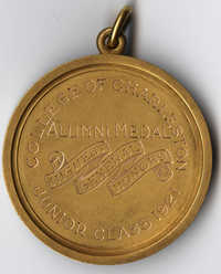 Alumni Medal for Highest General Honors, Junior Class 1921