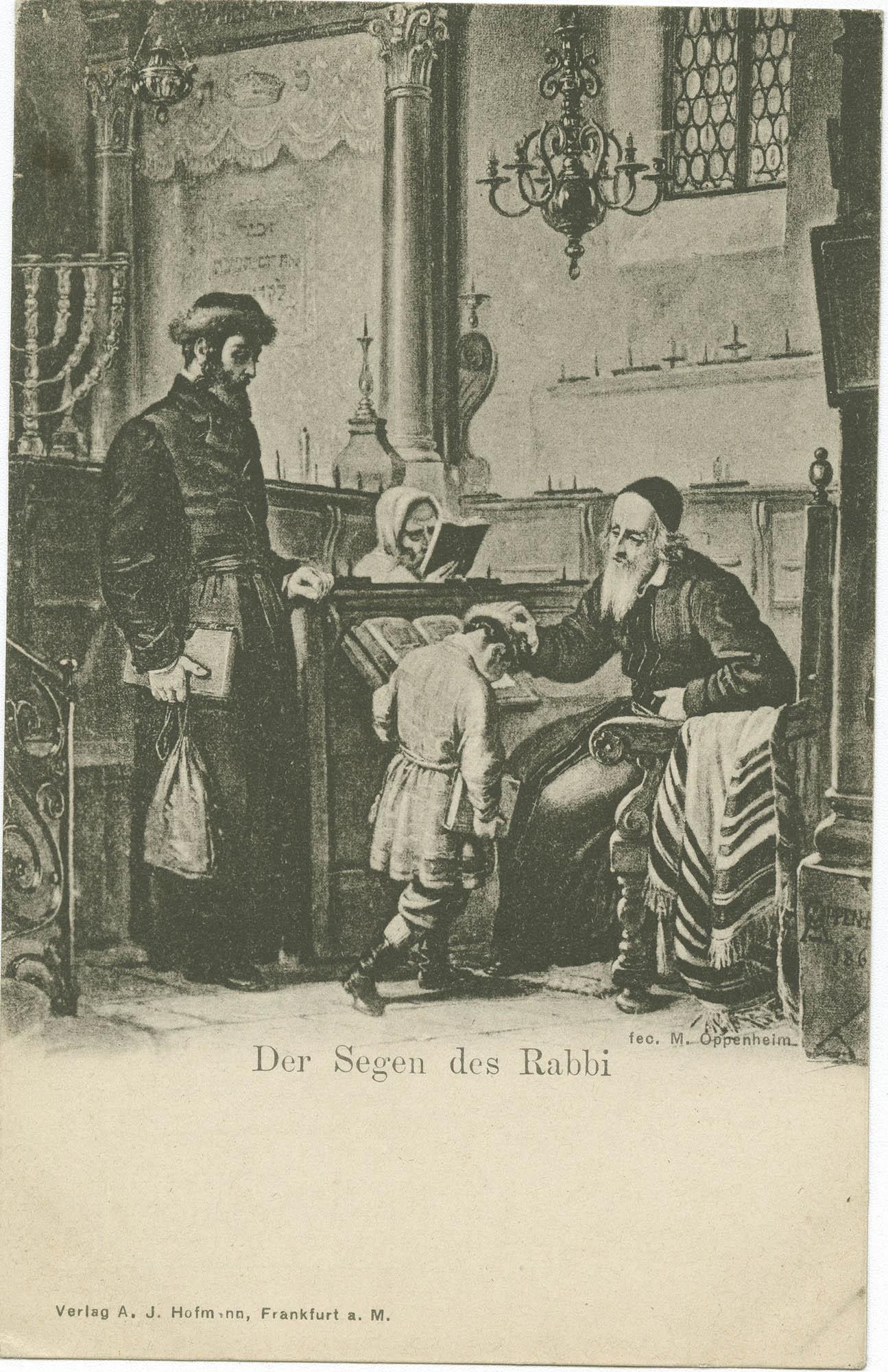 Der Segen des Rabbi