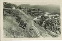 SAFAD, Jewish Quarter w. Mt. Atzmon / צפת, רובע ההר