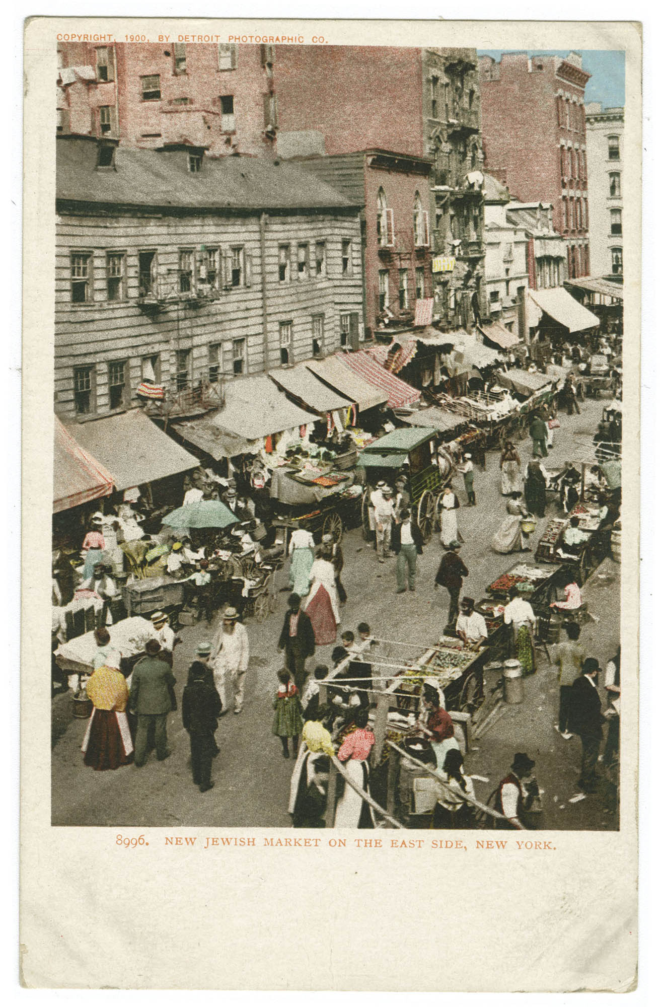 New Jewish Market on the East Side, New York
