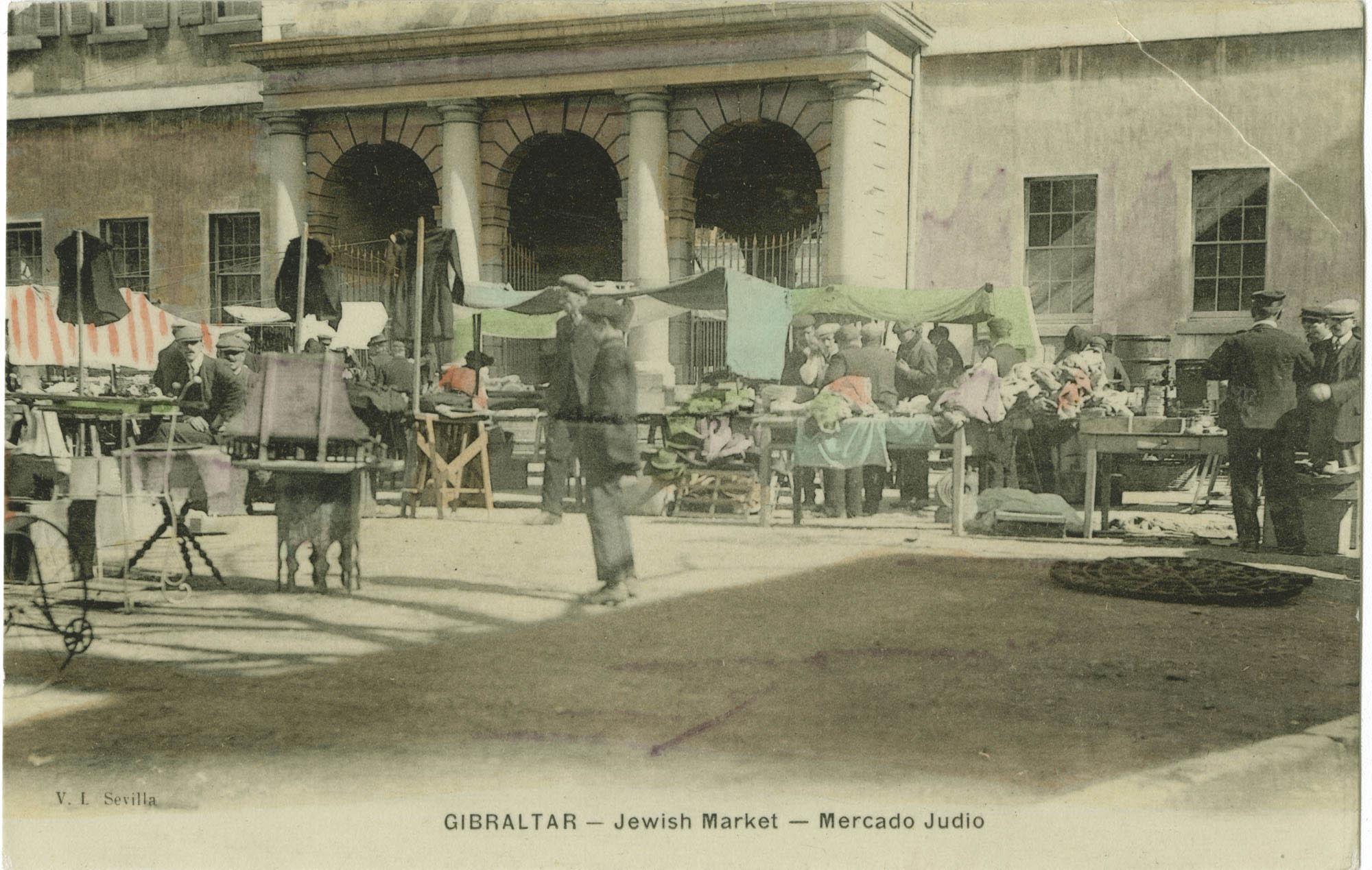 GIBRALTAR. Jewish Market / Mercado Judio