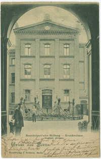 Mannheimer'sche Stiftung -- Krankenhaus. Auguststrasse.