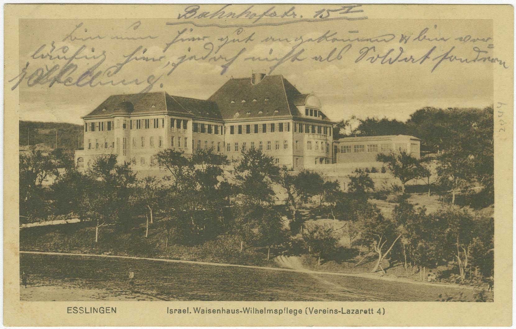 Esslingen. Israel. Waisenhaus-Wilhelmspflege