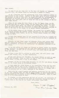 Letter from Anne Webb Stafford, March 23, 1970