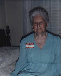 Photograph of Pierrine Smith Byrd, 1984