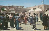 מירון - הכניסה לחצר בית הכנסת / Meron - entrance to the synagogue