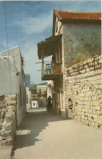 Safad - lane in the Old City / צפת - סמטא בעיר העתיקה