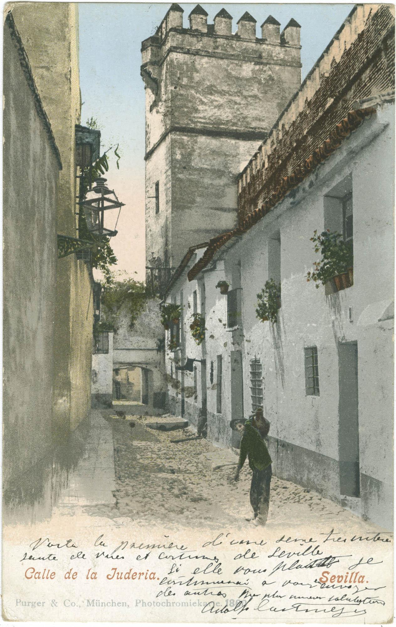 Sevilla. Calle de la Judería.