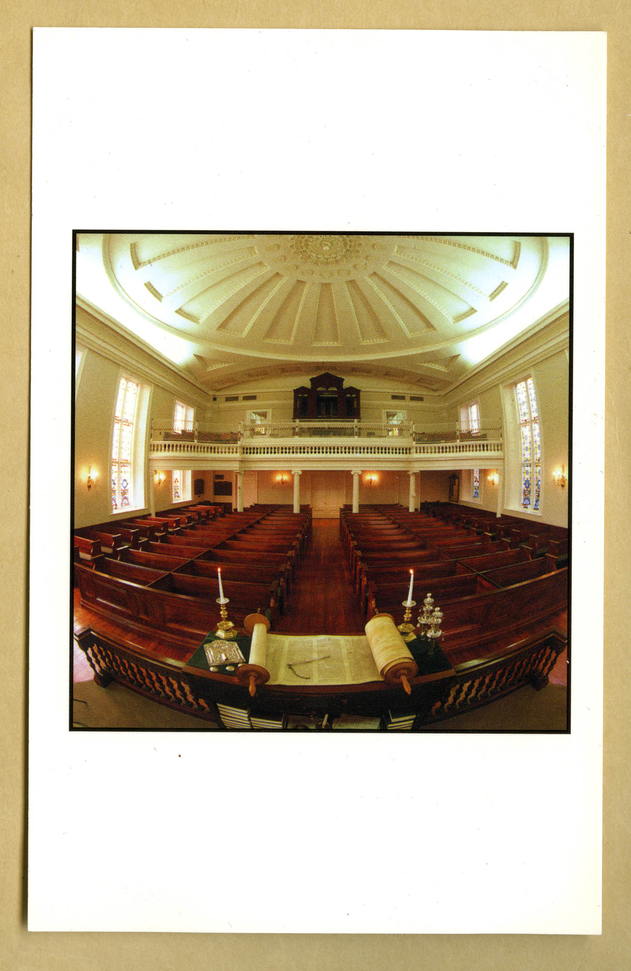 The synagogue of K.K. Beth Elohim, Charleston, South Carolina