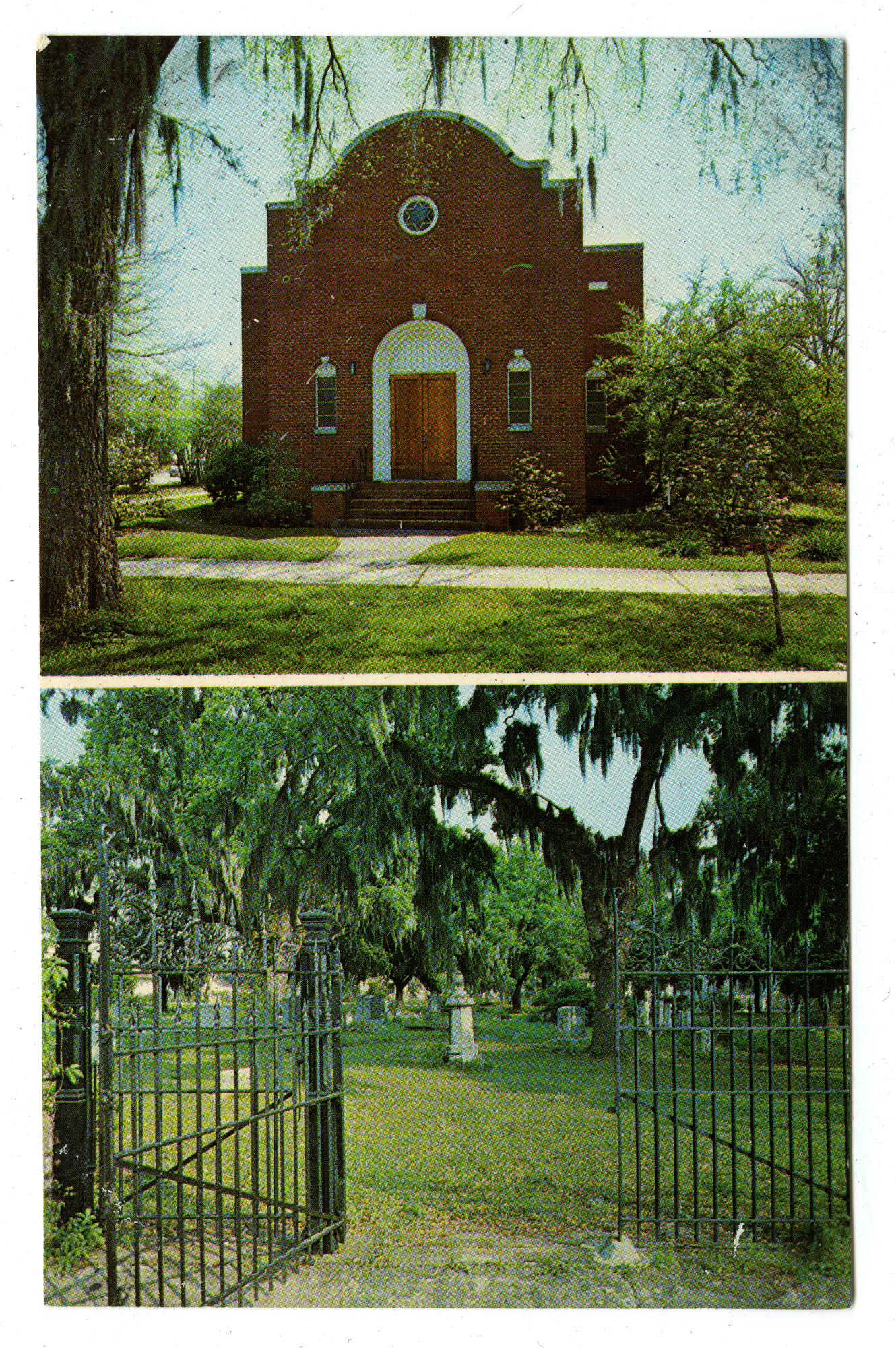 Temple Beth Elohim and cemetery, Georgetown, South Carolina
